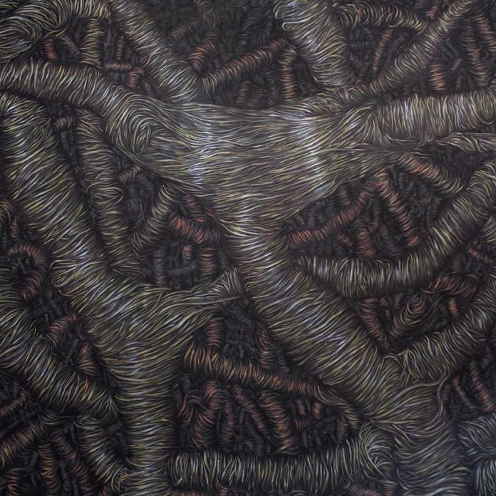 Fever Dream, oil color on canvas, 2016, 200 x 170 cm (Jyväskylän Taidemuseon kokoelmissa)