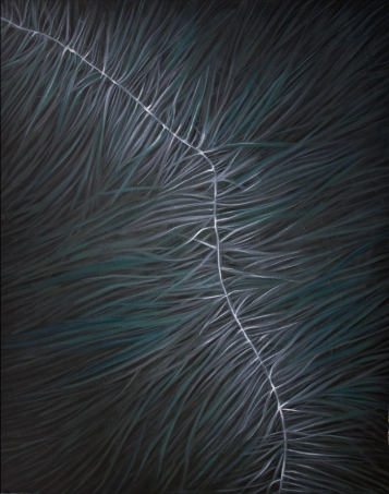 Neural Pathways, 2015, oil color on mdf, 80 x 100 cm