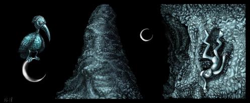 Frogman Chronicles, 2018, digital painting