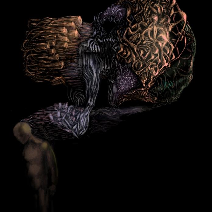 Pile of Dead Things, 2017, digital painting