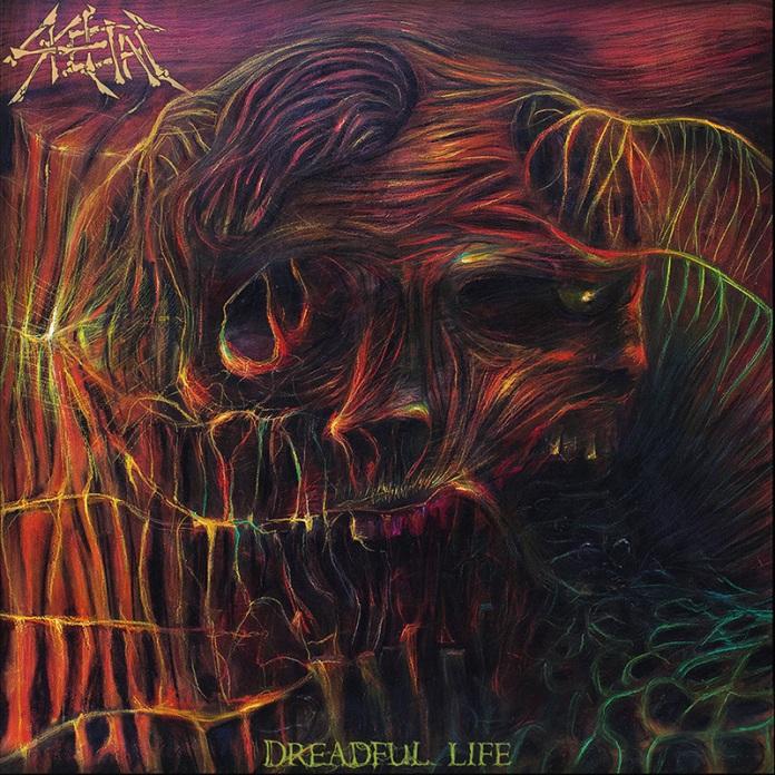 Skeletal - Dreadful Life, album cover art, 2016
